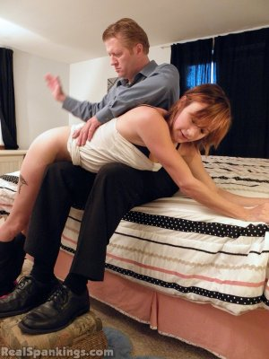 Real Spankings - Allison: Long Hard Spanking (part 1) - image 12