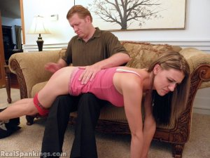 Real Spankings - Monica Spanked Otk By Danny And Miss Blake - image 4
