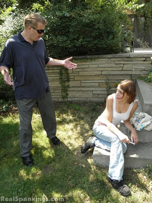 Real Spankings - Roxie Caught Ditching School (part 1 Of 2) - image 5