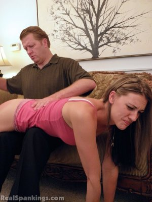 Real Spankings - Monica Spanked Otk By Danny And Miss Blake - image 10