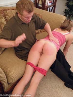 Real Spankings - Monica Spanked Otk By Danny And Miss Blake - image 3