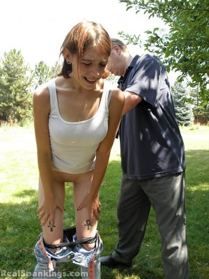 Real Spankings - Roxie Caught Ditching School (part 1 Of 2) - image 11