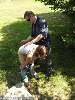 Real Spankings - Roxie Caught Ditching School (part 1 Of 2) - image 14