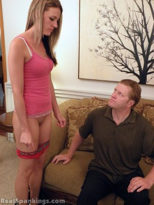 Real Spankings - Monica Spanked Otk By Danny And Miss Blake - image 14