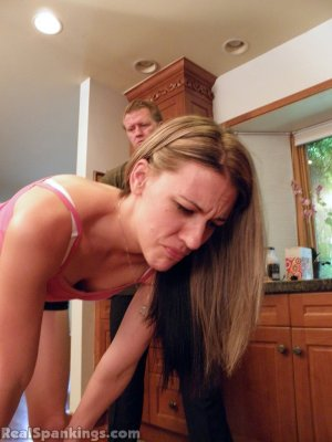 Real Spankings - Monica Spanked With The Belt - image 15