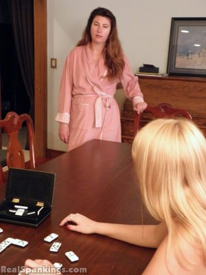 Real Spankings - Abigail And Allison Spanked With The Hairbrush (part 1 Of 2) - image 5