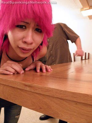 Real Spankings - Kik Punished With The Belt - image 7