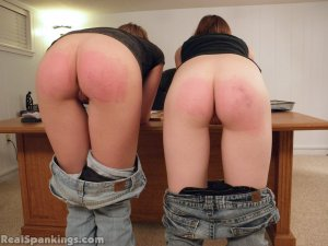 Real Spankings - Monica And Roxie Paddled (part 2 Of 2) - image 13