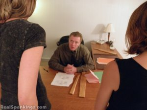 Real Spankings - Monica And Roxie Paddled (part 2 Of 2) - image 18