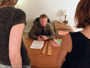 Real Spankings - Monica And Roxie Paddled (part 2 Of 2) - image 10