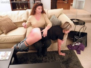 Real Spankings - Riley Spanked For Coming Home Late With A Bad Attitude (part 1 Of 2) - image 8
