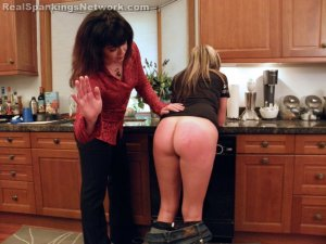 Real Spankings - Riley Spanked For Rudeness (part 1 Of 2) - image 15