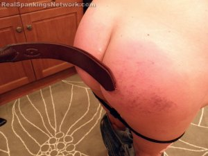Real Spankings - Riley Spanked For Rudeness (part 2 Of 2) - image 6