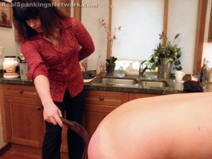 Real Spankings - Riley Spanked For Rudeness (part 2 Of 2) - image 8