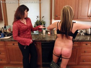 Real Spankings - Riley Spanked For Rudeness (part 2 Of 2) - image 5