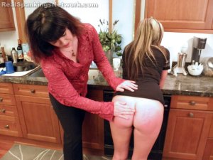 Real Spankings - Riley Spanked For Rudeness (part 1 Of 2) - image 17