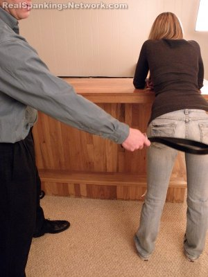 Real Spankings - Monica Strapped By Danny - image 4