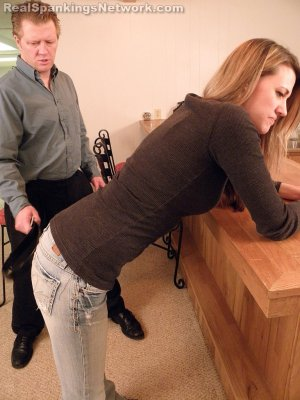Real Spankings - Monica Strapped By Danny - image 13