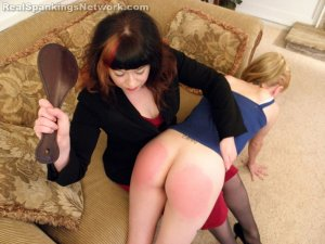 Real Spankings - Allison's Birthday Spanking (part 1 Of 2) - image 12