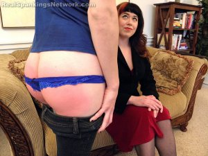 Real Spankings - Allison's Birthday Spanking (part 1 Of 2) - image 13
