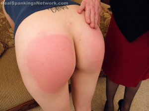 Real Spankings - Allison's Birthday Spanking (part 1 Of 2) - image 8