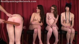 Real Spankings - Four Naked Girls Spanked (part 4 Of 4) - image 5