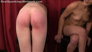 Real Spankings - Four Naked Girls Spanked (part 4 Of 4) - image 7
