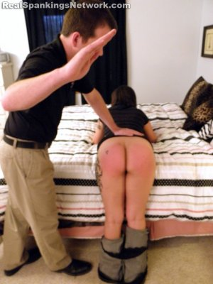 Real Spankings - Zoe Handspanked By Mr. M - image 14