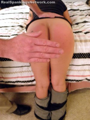 Real Spankings - Zoe Handspanked By Mr. M - image 13