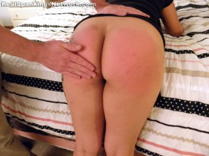 Real Spankings - Zoe Handspanked By Mr. M - image 4