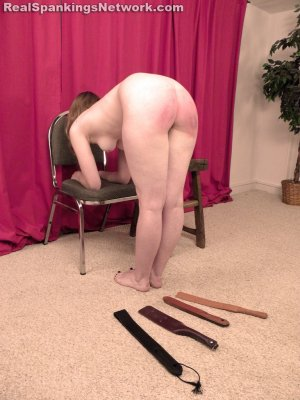 Real Spankings - Ivy Plays The Spanking Game - image 8