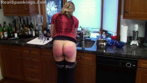 Real Spankings - Spanked For Overspending And Attitude (part 2 Of 2 - image 13