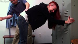 Real Spankings - Kajira: Paddled In The Locker Room - image 3