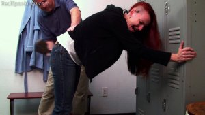 Real Spankings - Kajira: Paddled In The Locker Room - image 4