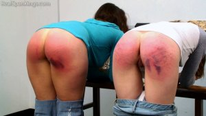 Real Spankings - School Swats: Rae And Maya - image 2