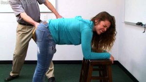 Real Spankings - School Swats: Rae And Maya - image 4