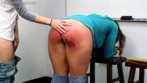 Real Spankings - School Swats: Rae And Maya - image 15