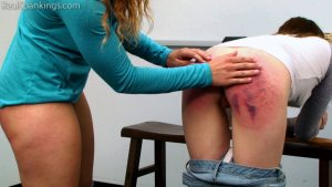 Real Spankings - School Swats: Rae And Maya - image 7