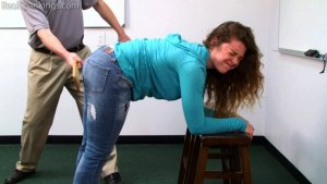 Real Spankings - School Swats: Rae And Maya - image 3