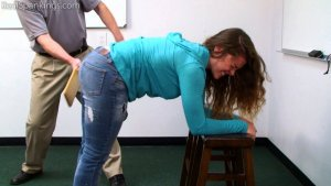 Real Spankings - School Swats: Rae And Maya - image 10