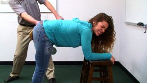 Real Spankings - School Swats: Rae And Maya - image 13