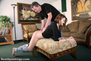 Real Spankings - Rae Spanked By Mr. M (part 2 Of 2) - image 10