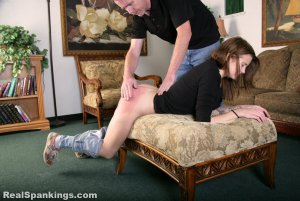 Real Spankings - Rae Spanked By Mr. M (part 2 Of 2) - image 6