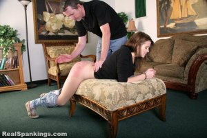 Real Spankings - Rae Spanked By Mr. M (part 2 Of 2) - image 7
