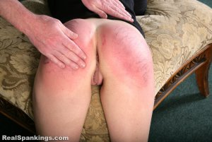 Real Spankings - Rae Spanked By Mr. M (part 2 Of 2) - image 9