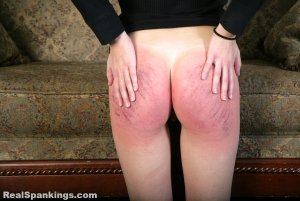 Real Spankings - Rae Spanked By Mr. M (part 2 Of 2) - image 13