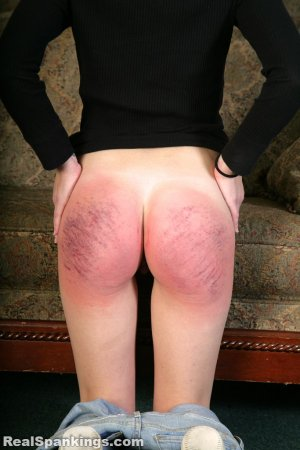 Real Spankings - Rae Spanked By Mr. M (part 2 Of 2) - image 5