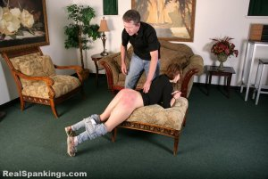 Real Spankings - Rae Spanked By Mr. M (part 2 Of 2) - image 11
