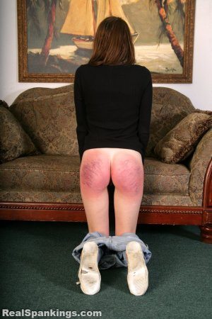Real Spankings - Rae Spanked By Mr. M (part 2 Of 2) - image 15