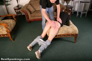 Real Spankings - Rae Spanked By Mr. M (part 2 Of 2) - image 8